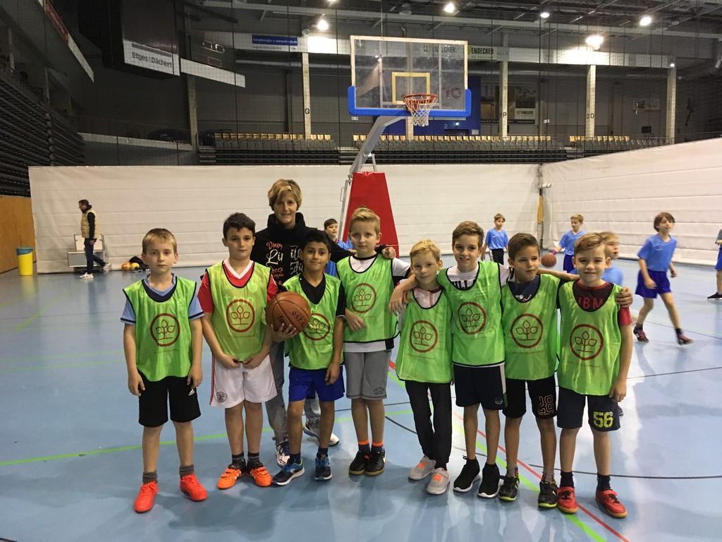 Basketballspiel gegen die Grundschule Euren @ Arena Trier
