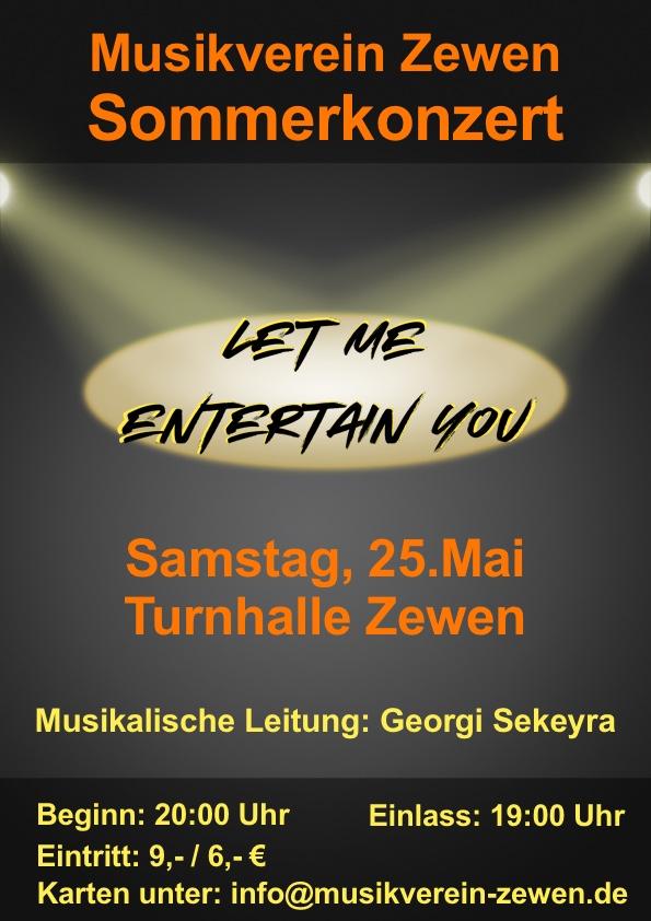 Sommerkonzert 2019 des Musikvereins Trier-Zewen @ Grundschule Trier-Zewen (Turnhalle)